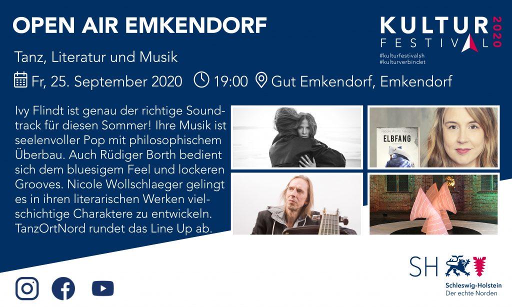 Kulturfestival Gut Emkendorf